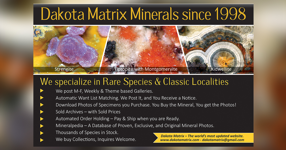 Mineralpedia: mineral photos and pictures with identification guide