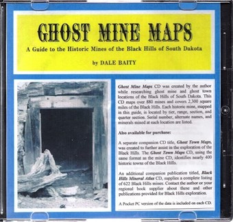 Ghost Mine (Black Hills) Maps (CD) - CD02