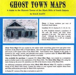 Ghost Town (Black Hills) Maps (CD) - CD03