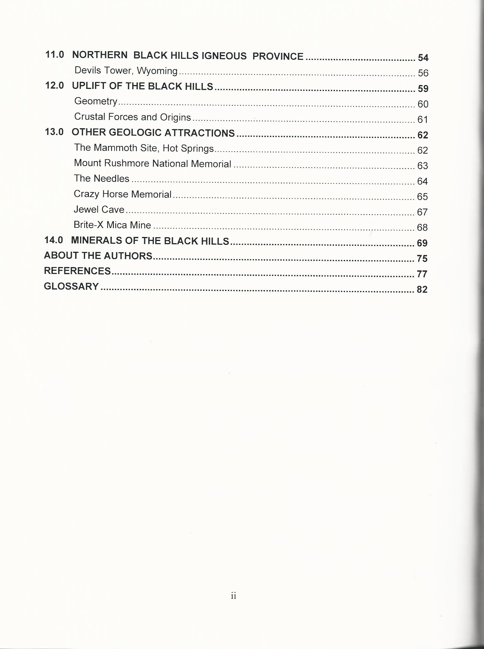 worksheet Factors Of Production Worksheet guidebook to the geology of black hills south dakota softcover softcover