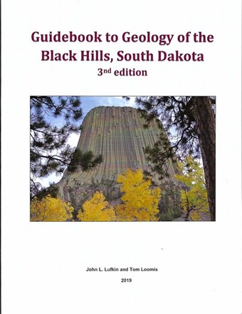 Guidebook to the Geology of the Black Hills, SD - B13 (3rd edition)