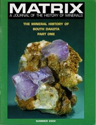 Mineral History of South Dakota: Part One (Softcover) - M01