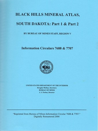 Black Hills Mineral Atlas, South Dakota (Spiral-Bound) - B01