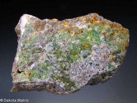 Arthurite from Hingston Down quarry, Gunnislake, Cornwall, England - PD33363