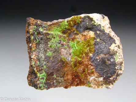 Arthurite from Calstock, Cornwall, England - BN45708