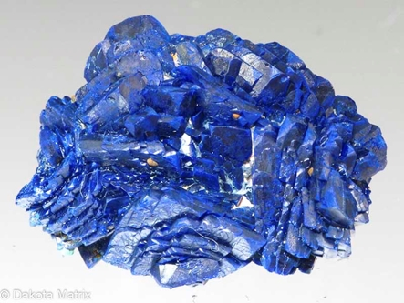 Azurite from Hanover #2 mine, Grant Co., New Mexico, United States - AH53322