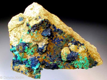 Azurite from Big Indian Copper mine, San Juan Co., Utah, United States - AH53831