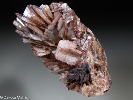 BARYTE from Montreal mine, Iron Co., Wisconsin, United States - PD31632