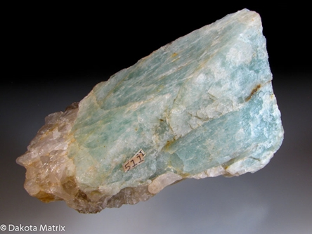 Beryl from Wardwell Quarry, Oxford Co., Maine, United States - 33364