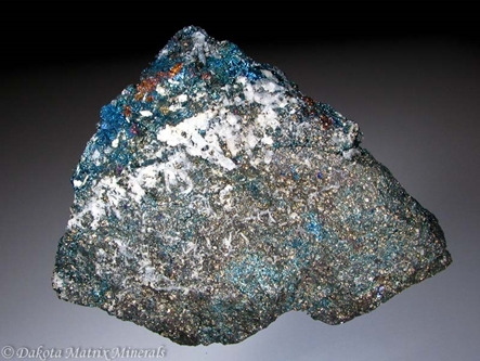BORNITE from Butte dist., Silver Bow Co., Montana, United States - PD31823