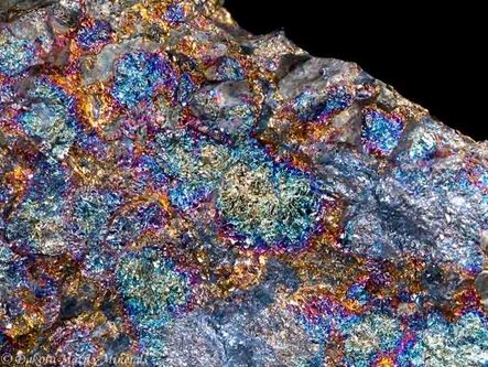 Bornite from Balmat, St. Lawrence Co., New York, United States - PD32463