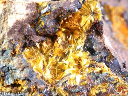 Cacoxenite from Boar Tusk Mtn., Polk Co., Arkansas, United States - BN53080