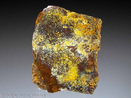 Cacoxenite from Union Carbide mine, Wilson Springs, Garland Co., Arkansas, United States - 7984