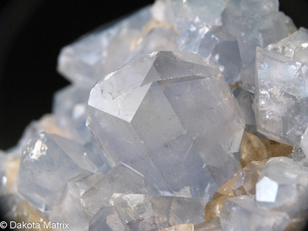 Celestine from Scofield quarry, Maybee, Monroe Co., Michigan, United States - 54057