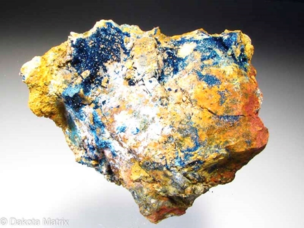 Clinoclase from Majuba Hill mine, Pershing Co., Nevada, United States - 47738