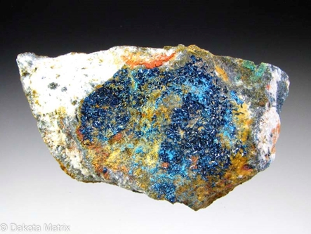 Clinoclase from Majuba Hill mine, Pershing Co., Nevada, United States - 47750