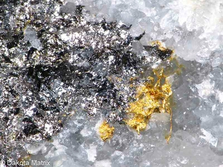 Coloradoite from Bessie G mine, La Plata Co., Colorado, United States - AH53360