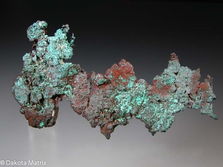 COPPER from Dzhezkazgan mine, Karagandy, Kazakhstan - PD32377