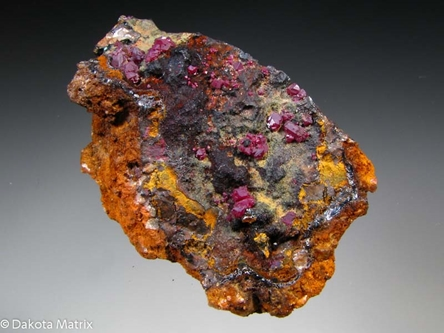 CUPRITE from Gwennap, Cornwall, England - PD31706