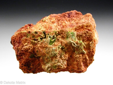 Emmonsite from Bambolla mine, Moctezuma, Sonora, Mexico - 51092