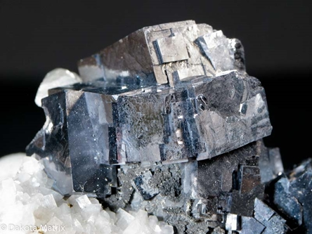Galena from Sweetwater mine, Viburnum Trend, Reynolds Co., Missouri, United States - PD37979