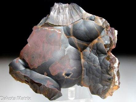 Goethite from Mahoning-Hull-Rust mine, Hibbing, Mesabi Range, St. Louis Co., Minnesota, United States - RW48552