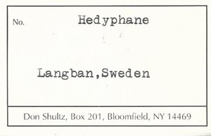 Hedyphane - DS46932