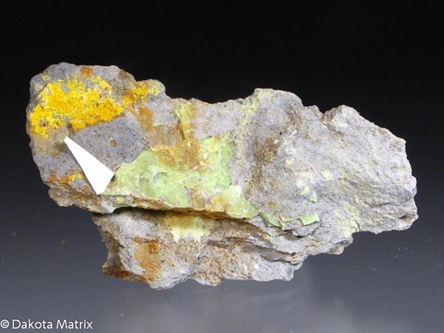 Larisaite from Repete mine, San Juan Co., Utah, United States - 41062