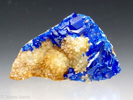 Linarite from Grand Reef mine, Graham Co., Arizona, United States - 50000