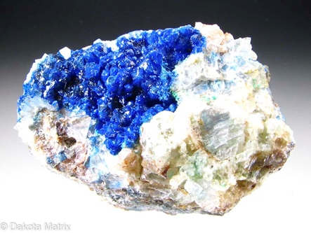 Linarite from Bingham dist., Socorro Co., New Mexico, United States - AH53615