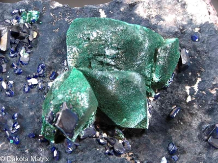 Malachite from New Cornelia mine, Ajo Dist., Pima Co., Arizona, United States - 50752