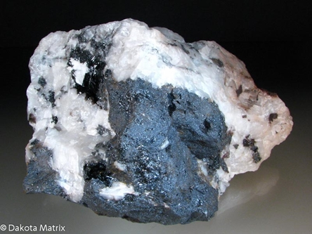 Manganite from South Jackson pit, Negaunee, Marquette iron range, Marquette Co., Michigan, United States - DH36799