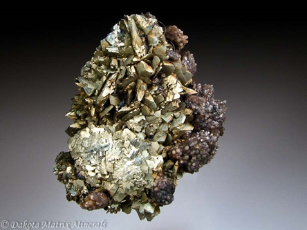 Marcasite from Rensselaer quarry, Jasper Co., Indiana, United States - DH34706