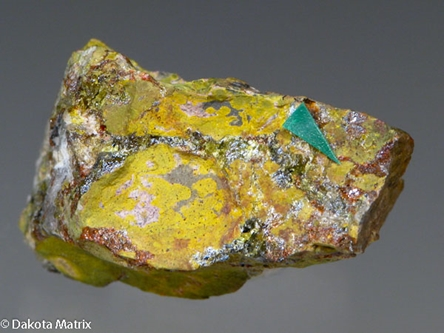 Montroydite from Terlingua dist., Brewster Co., Texas, United States - 38285