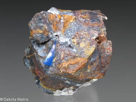 Montroydite from Aurora mine, San Benito Co., California, United States - BM40427