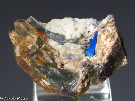 Montroydite from Clear Creek mine, San Benito Co., California, United States - GJ42682