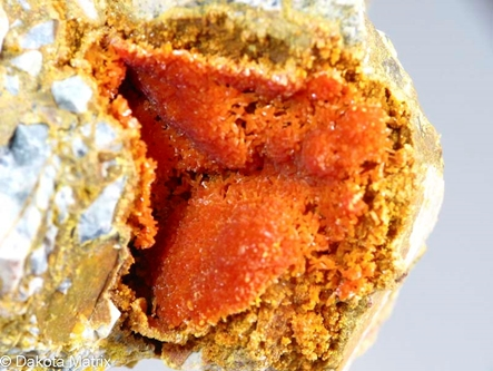 Orpiment from White King mine, Lake Co., Oregon, United States - 50779