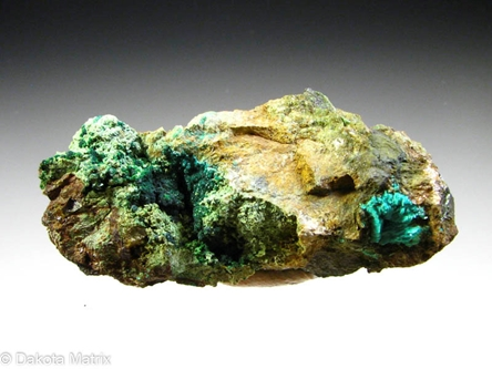 Parnauite from Majuba Hill mine, Pershing Co., Nevada, United States - 52902