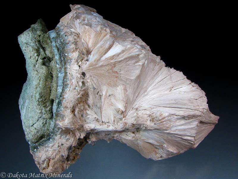 Calcium Silicate United States : Pectolite mineral specimen for sale