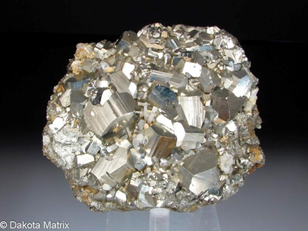 Pyrite from Butte dist., Silver Bow Co., Montana, United States - 45868