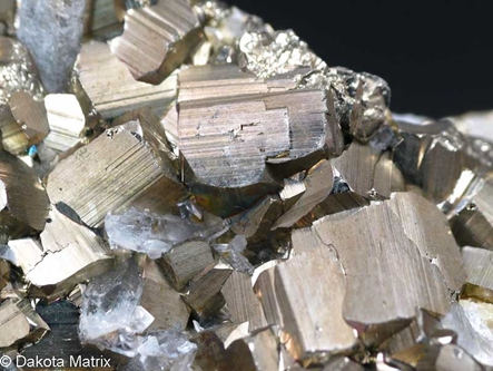 Pyrite from Butte dist., Silver Bow Co., Montana, United States - 45927