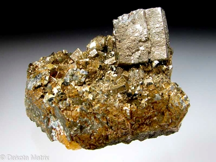 Pyrite from Elmo mine, Lafayette Co., Wisconsin, United States - RW48778