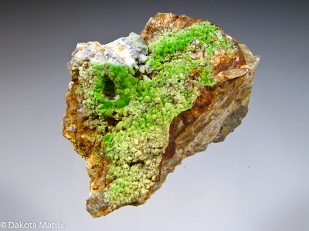 Pyromorphite from Bwlch Glas mine, Talybont, Dyfed, Wales - 29774