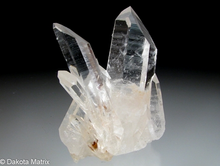 Quartz from de Linde Mine, High Peak, Montgomery Co., Arkansas, United States - BN49956