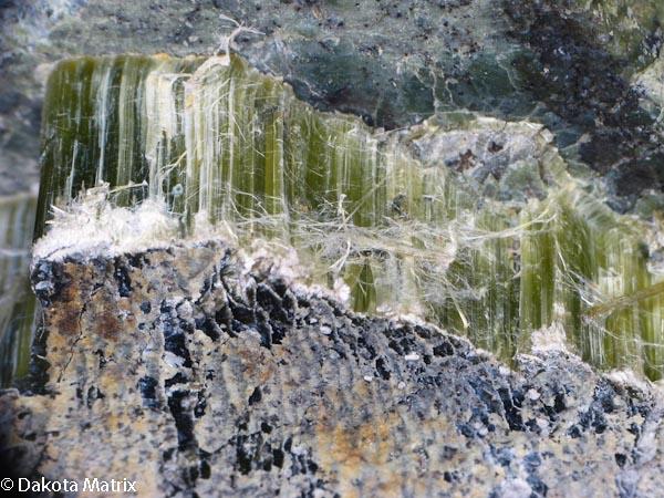 Asbestos Mining In Us : Reevesite mineral specimen for sale