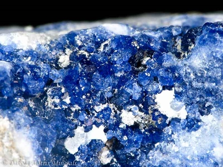 Sodalite from Mont Saint-Hilaire, Rouville Co., Quebec, Canada - 10457