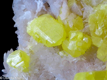 Sulphur from Gibisa mine, Agrigento, Sicily, Italy - AH51476