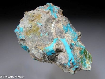 Turquoise from Morenci mine, Greenlee Co., Arizona, United States - RW48864