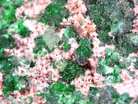 Uvarovite from Jacksonville dist., Mother Lode Belt, Tuolumne Co., California, United States - 49078