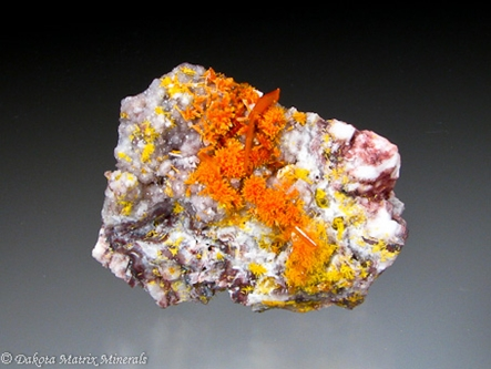 Wulfenite from Rowley mine, Maricopa Co., Arizona, United States - 33089